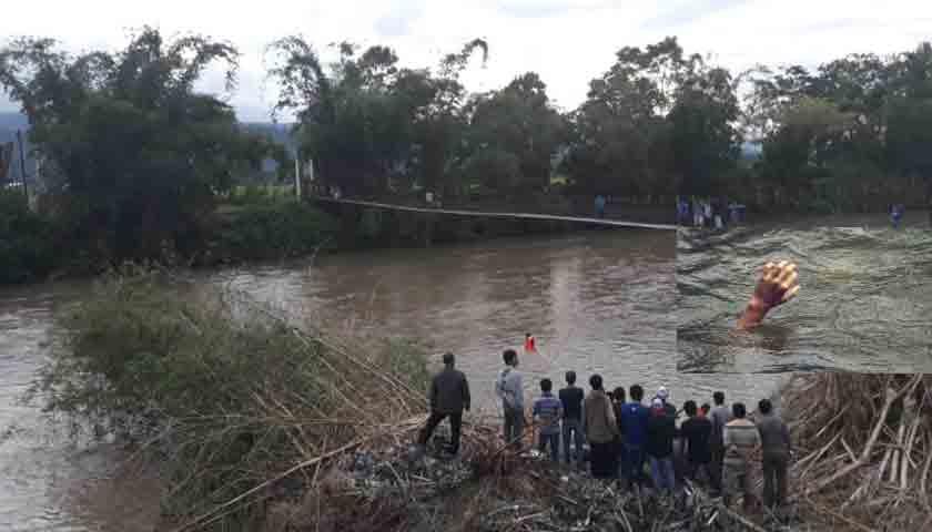 Aek Sutumandi Taput Telan Korban, Bocah SD Hilang