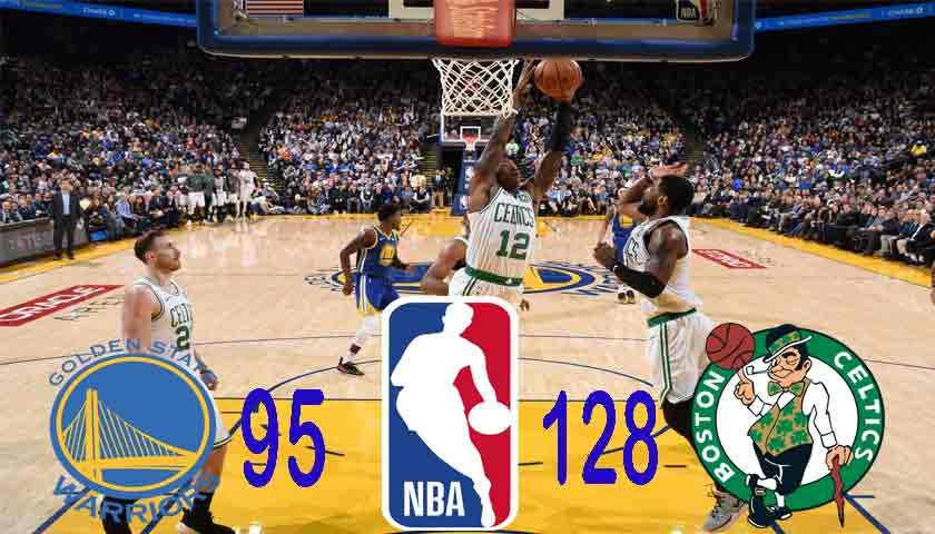 NBA 2018/19: Boston Celtics Permalukan Golden State Warriors