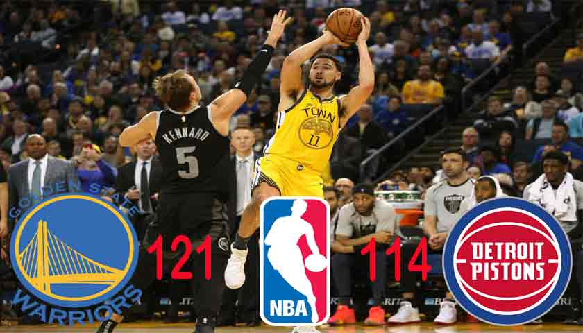 Golden State Warriors Kembali ke Puncak Klasemen