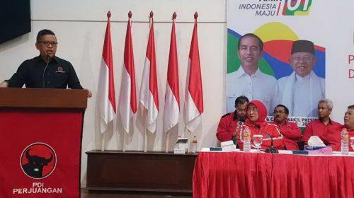 PDIP Targetkan Kemenangan Jokowi 63,4%
