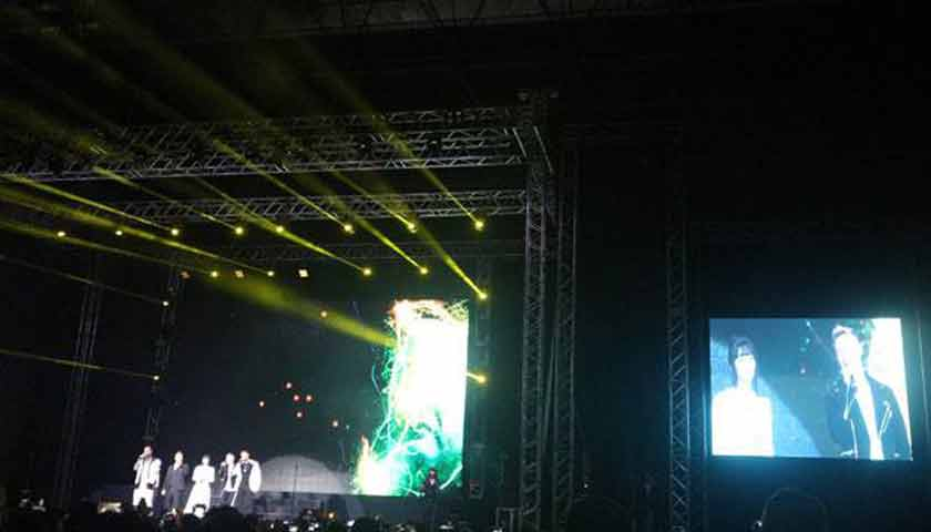 Isyana Sarasvati Buka Konser Pamitan Boyzone
