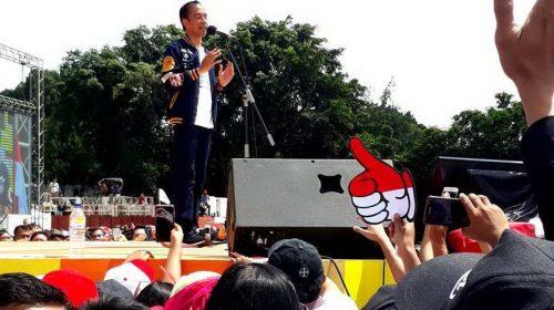 Jokowi: 4,5 Tahun Saya Diam, Sekarang Lawan