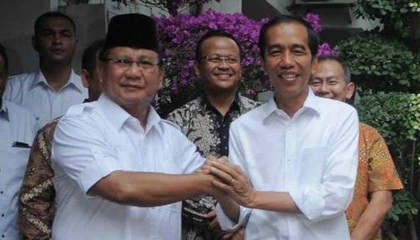 Hubungan Personal Jokowi dan Prabowo Tetap Baik