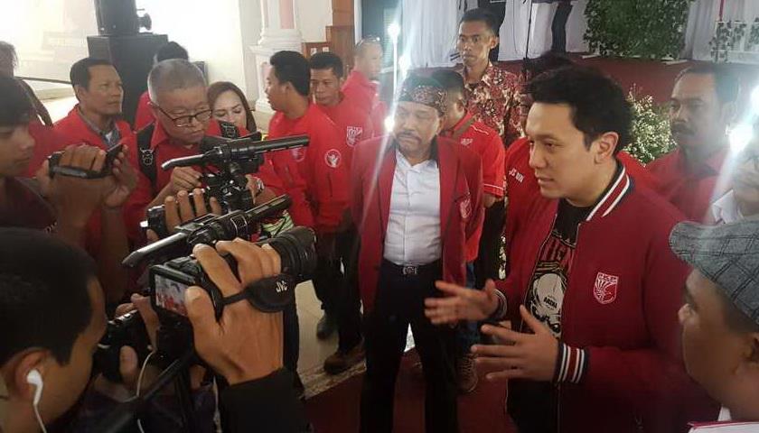 5.000 Kader PKPI Deklarasi Menangkan Jokowi-Ma'ruf