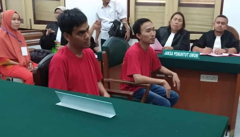 2 Kurir 20 Kg Sabu di Antaranya Warga Tanjung Gusta Terancam Pidana Mati