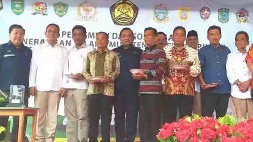Kementerian ESDM RI Launching Program Penerangan Jalan Umum Tenaga Surya di Labusel