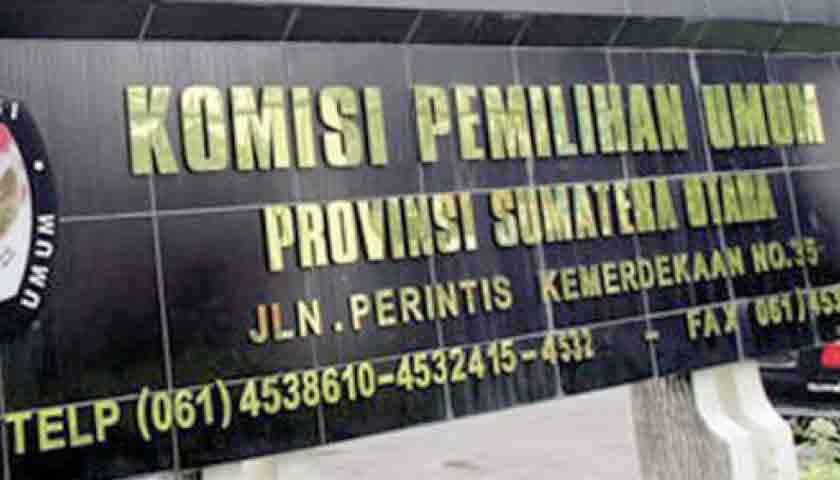 Didemo Wartawan, KPU Sumut Harus Transparan, Buka Semua Hasil Pleno Iklan Kampanye!