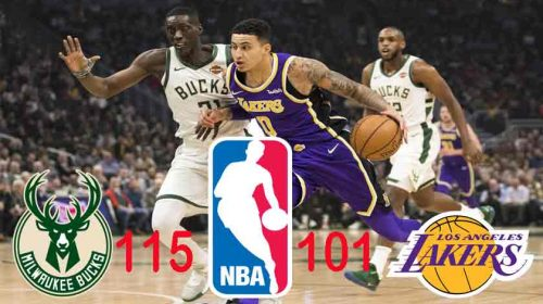 Milwaukee Bucks Menang atas LA Lakers 115-101
