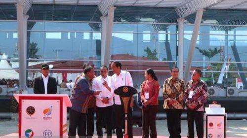 Presiden Jokowi Resmikan Pelabuhan Sibolga