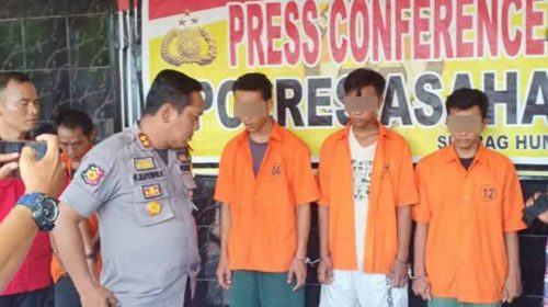 Polres Asahan Ungkap Kasus Pemerkosaan, 5 Pelaku Diringkus