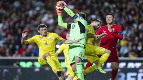 Kualifikasi Euro 2020: Portugal Ditahan Imbang Ukraina Tanpa Gol