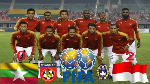 Timnas Indonesia Gulung Myanmar 2-0 di Laga Persahabatan