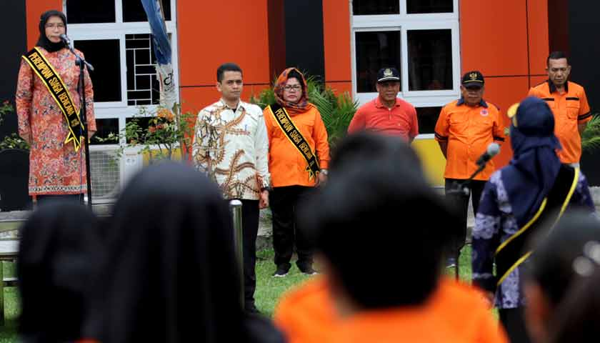 Apel Hari Kesiapsiagaan Bencana 2019, Sabrina: Gotong Royong Implementasi Pancasila