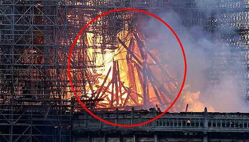 Gereja Katedral Notre Dame Terbakar, Wanita Ini Lihat Penampakan Yesus