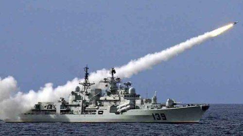 AS Kirim Dua Kapal Perang Angkatan Laut Lewat Selat Taiwan