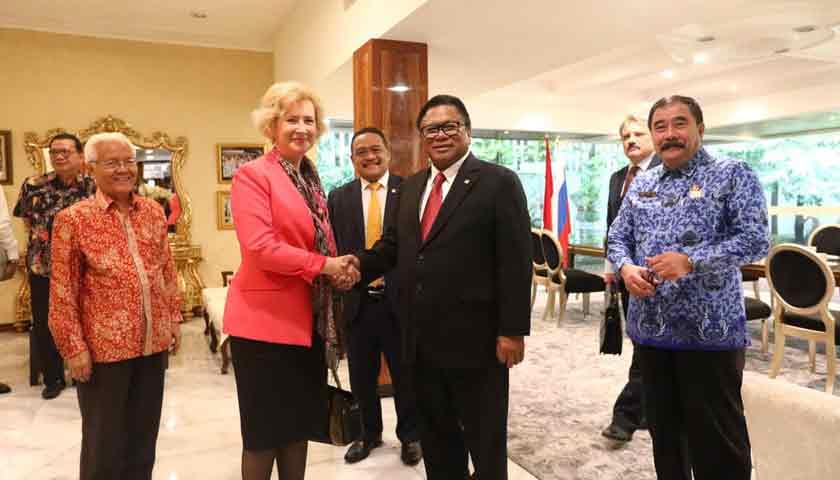 Ketua DPD RI: Rusia Komitmen Tingkatkan Investasi di Indonesia