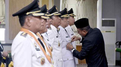 Lantik Tiga Bupati dan Wakil Bupati Sekaligus, Gubernur Sumut Berpesan Ini