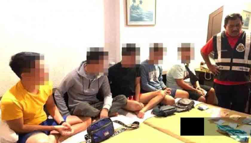 Duh..!!! 5 WNI PSK Sesama Jenis Ditangkap Imigrasi Malaysia