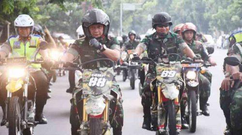 Patroli Naik Helikopter, Pangdam I/BB Bersama Kapoldasu Sisir Daerah