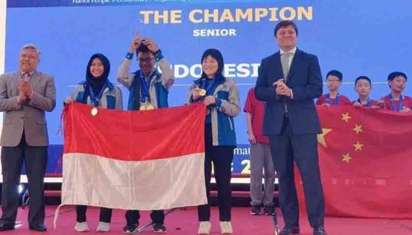 Pelajar Kompetisi Matematika di Vietnam, Indonesia Sabet 8 Medali