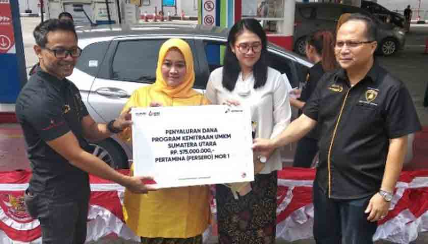 Pertamina Bantu Modal Pemilik UMKM, Peringati Hari Kartini