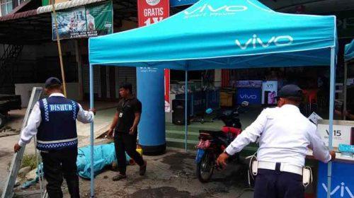Tim Gabungan Pemko Medan Kembali Tertibkan Pool Bus dan Mobil Penjual Paket Data