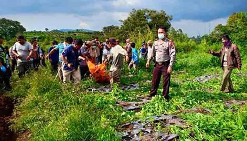 Sihaloho Tewas Membusuk di Sungai Aek Bolon Karo, Sepekan Dilaporkan Hilang