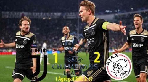 Ajax Mainkan Sepakbola Cerdas Buat Juventus Angkat Kaki di Liga Champions