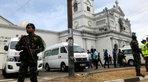 Ledakan Bom Hari Paskah di Sri Lanka, Puluhan Tewas