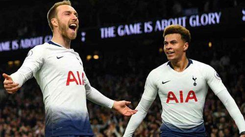 Bungkam Brighton, Christian Eriksen Jadi Pahlawan Tottenham