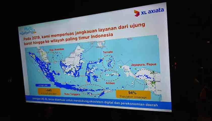 Fokus XL Axiata Bangun Jaringan di Luar Jawa, Rp 7,5 T Diinvestasikan