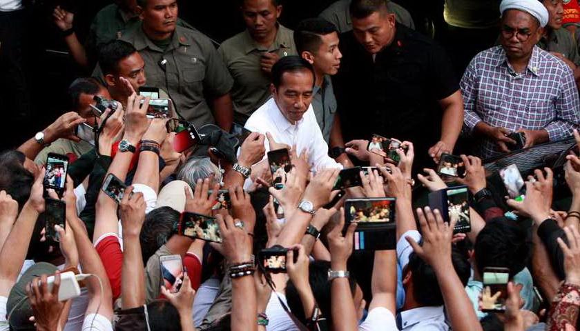 Mahathir dan Erdogan Ucapkan Selamat kepada Jokowi