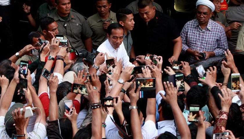 Kubu Jokowi Klaim Menang di Atas 60% di Sumut
