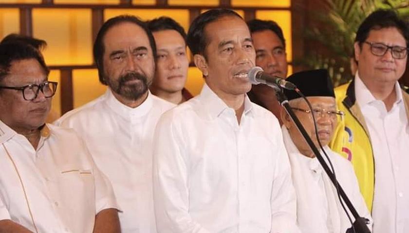 Jokowi Berterima Kasih kepada KPU, Bawaslu, dan DKPP