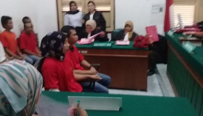 Pasutri Kurir 29 Gram Sabu Dituntut 10 Tahun Penjara