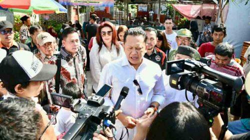Amankan Pemilu, Ketua DPR RI Puji Kinerja TNI Polri