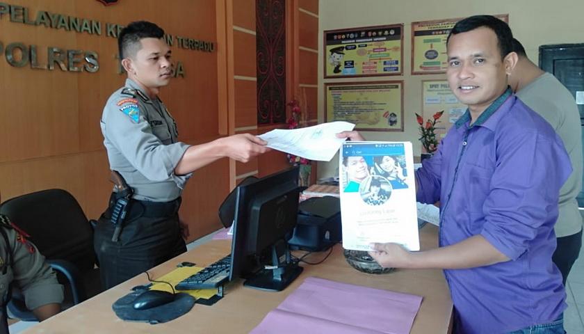 Hina Suku Batak, Pemilik Akun Dedy Lase Dilaporkan ke Polisi