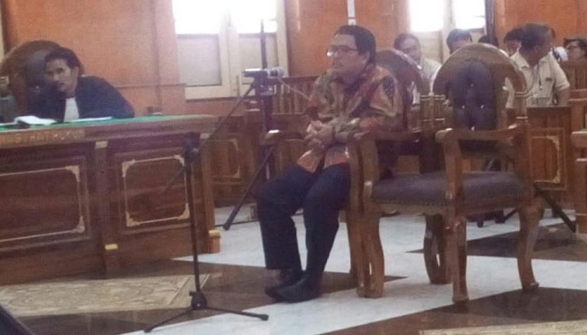 Terima Suap, Hak Politik Pangonal Harahap Dicabut 3 Tahun