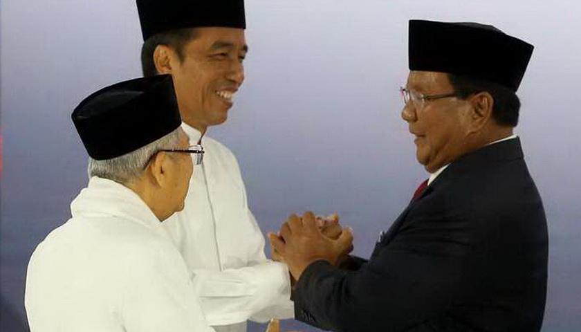 Update Situng KPU: Jokowi-Ma'ruf Unggul 12,74 Persen