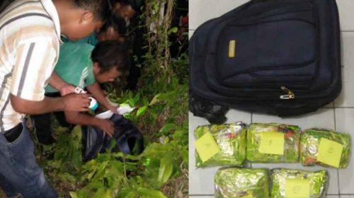 Polres Tanjungbalai Temukan 5.000 Gram Sabu di Pemakaman