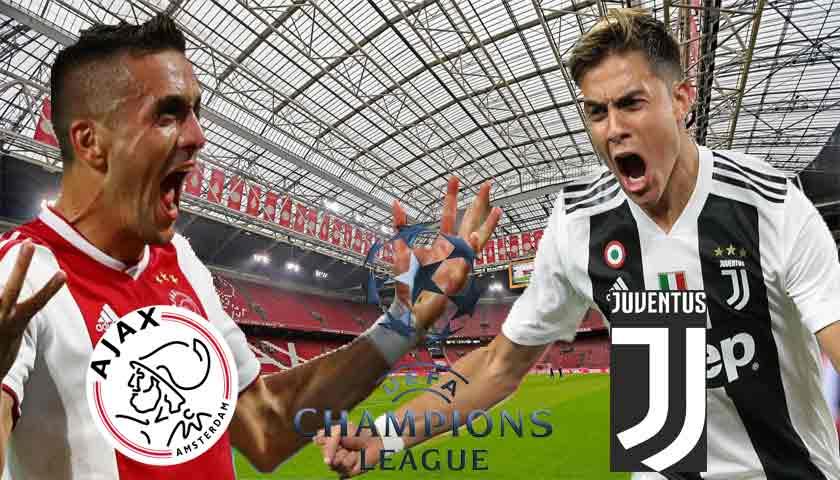 Prediksi Bola Ajax Amsterdam vs Juventus 11 April 2019