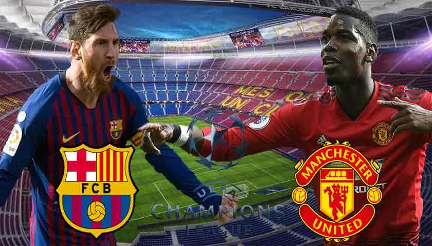 Prediksi Bola Barcelona vs Manchester United 17 April 2019