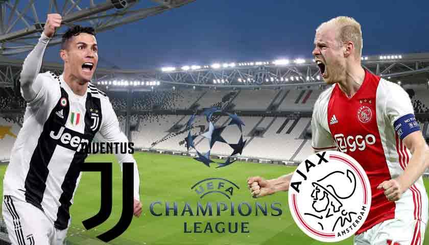 Prediksi Bola Juventus vs Ajax Amsterdam 17 April 2019