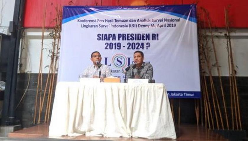Survei LSI Denny JA: Jokowi di Ambang Menang Telak