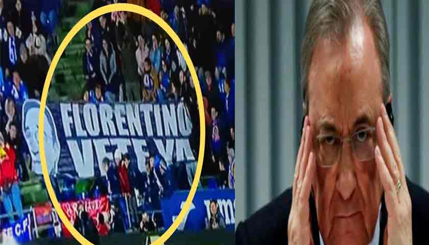 Seruan Fans Real Madrid Tuntut Florentino Perez Mundur dari Presiden