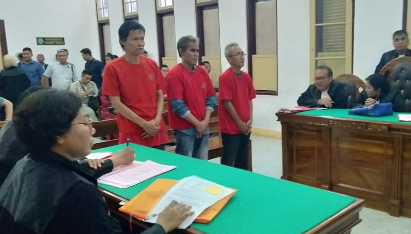 3 Kurir 5 Kg Sabu Dikendalikan dari Lapas Medan Divonis 19 Tahun Penjara
