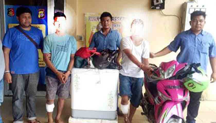 Doorr..!!! Spesialis Jambret Terkapar Dipelor Polisi, 29 Kali Beraksi
