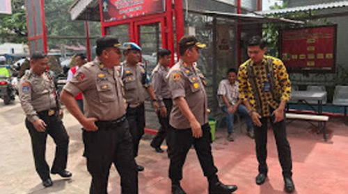 Cegah Tahanan Kabur, Kapolres Pelabuhan Belawan Sambangi Rutan Labuhan Deli