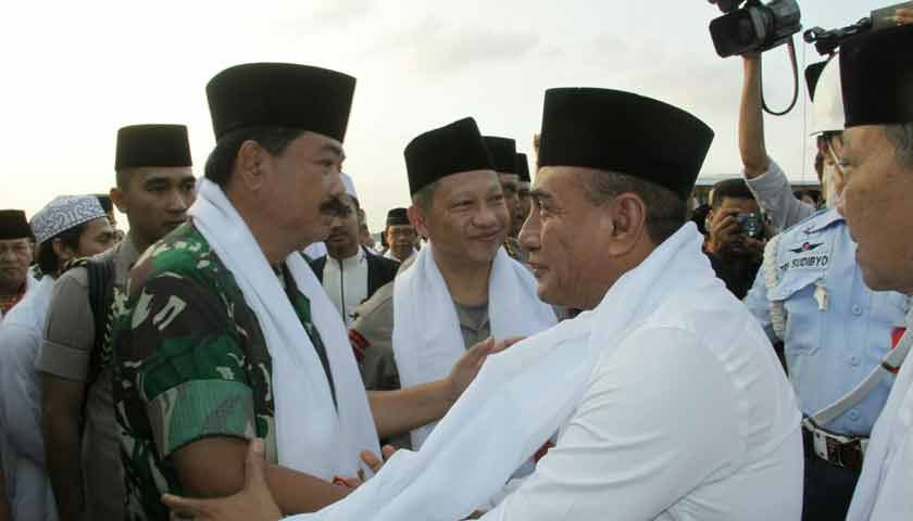 Safari Ramadan Panglima TNI dan Kapolri, Gubsu Ingin Damai Pemilu Tetap Terjaga
