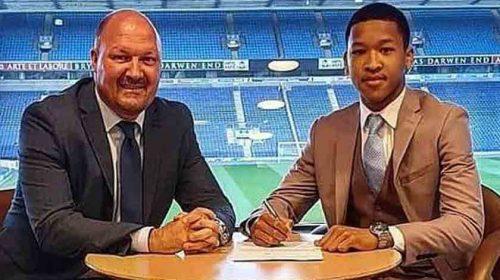 Keren..!!! Joseph Simatupang Ferguson, Bocah Batak yang 'Dibeli' Blackburn Rovers